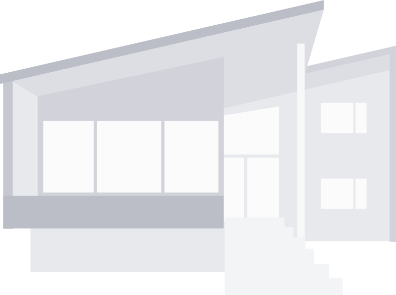 modern townhouse Clipart illustration in PNG, SVG