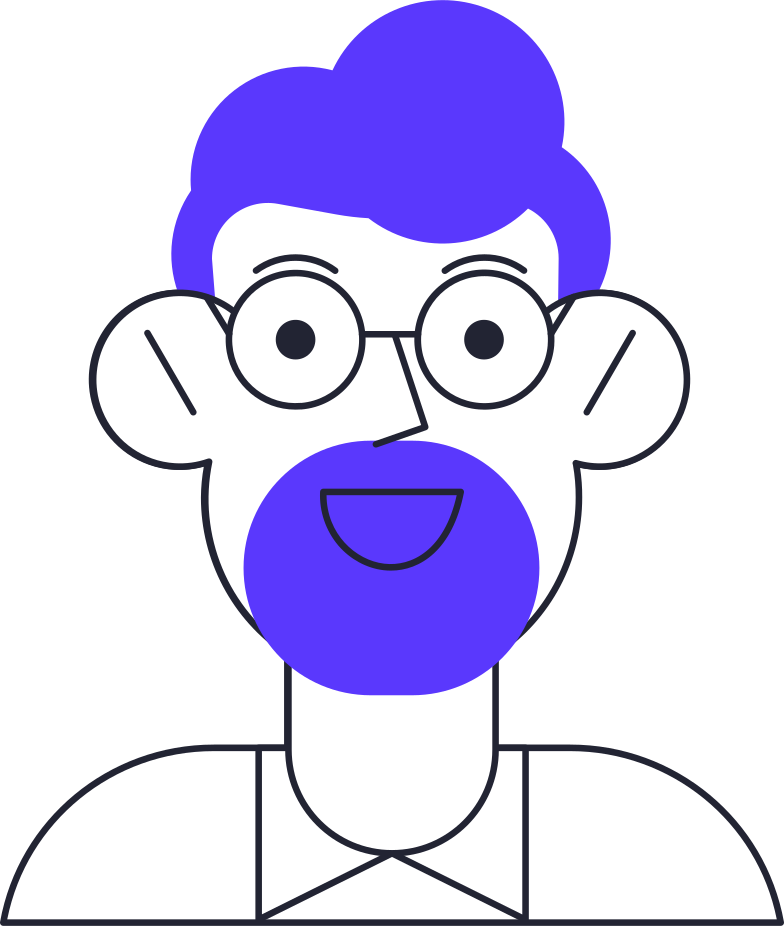 face id  man face Clipart illustration in PNG, SVG