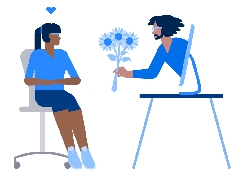 style Love on the distance Vector images in PNG and SVG | Icons8 Illustrations
