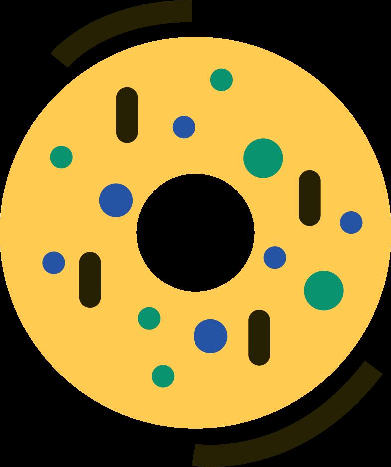 donut Clipart illustration in PNG, SVG