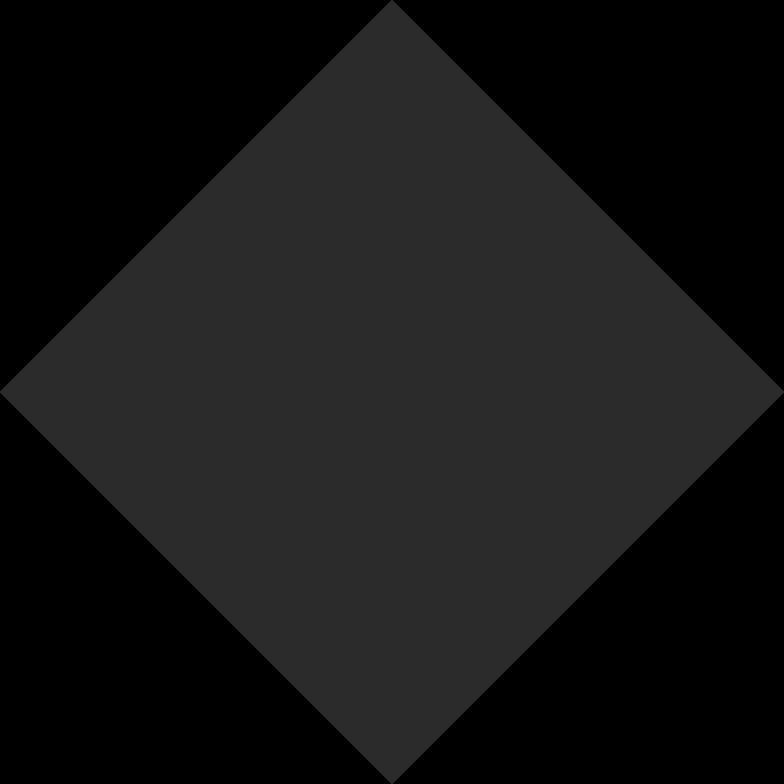 rhombus black Clipart illustration in PNG, SVG