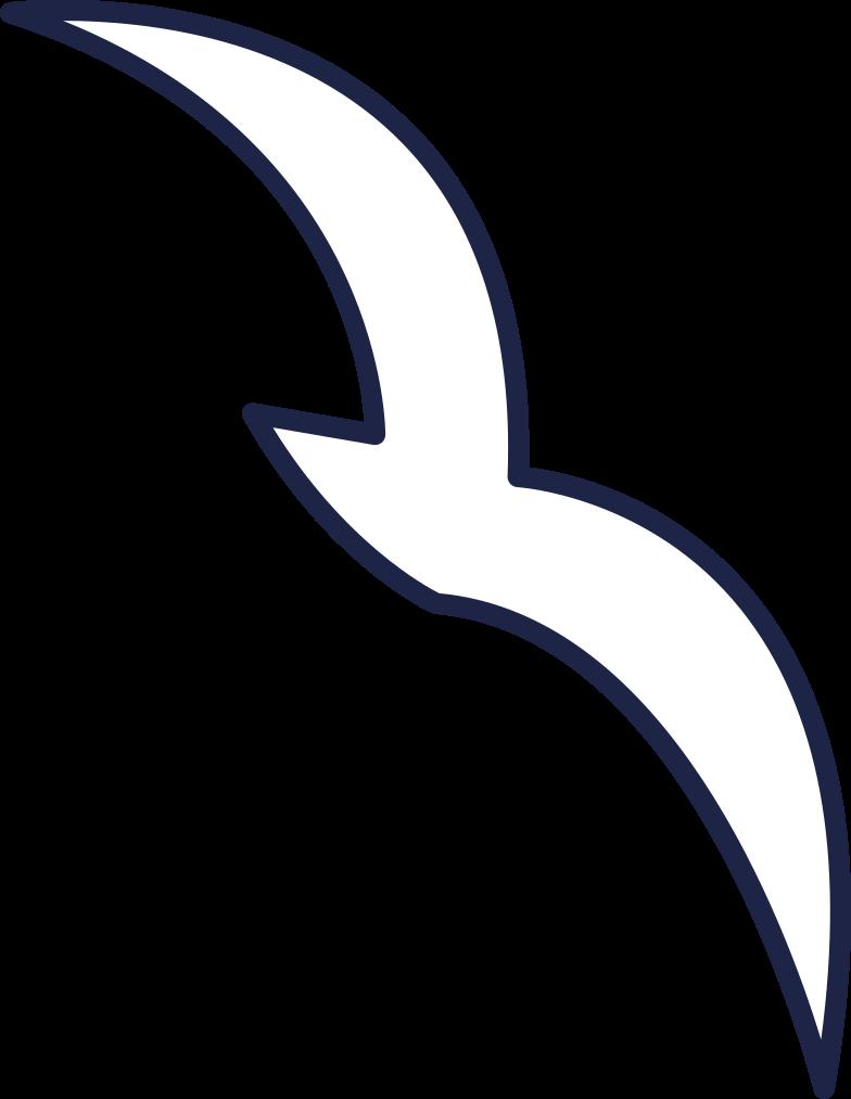 little bird line Clipart illustration in PNG, SVG