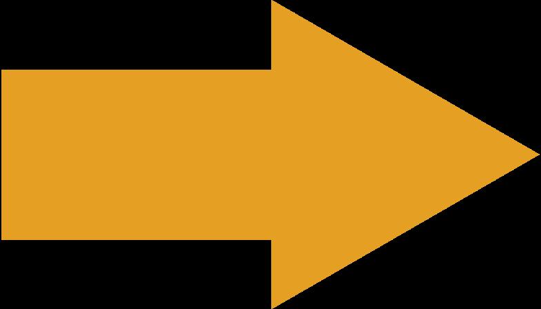 Pfeil orange Clipart-Grafik als PNG, SVG