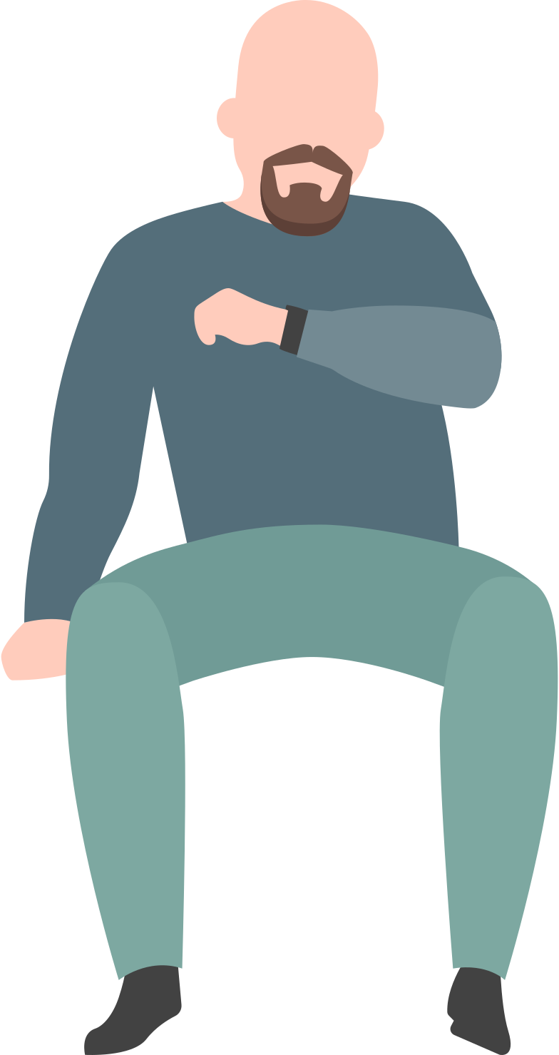 style waiting man Vector images in PNG and SVG | Icons8 Illustrations