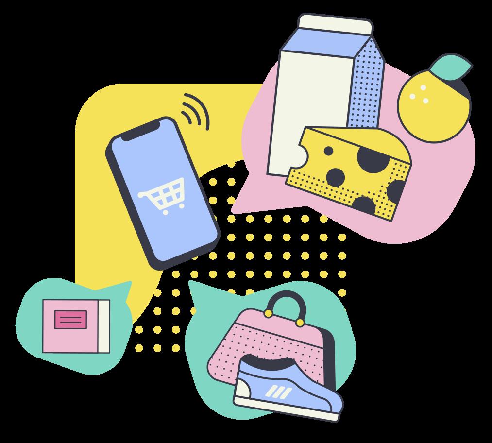 Online shop Clipart illustration in PNG, SVG