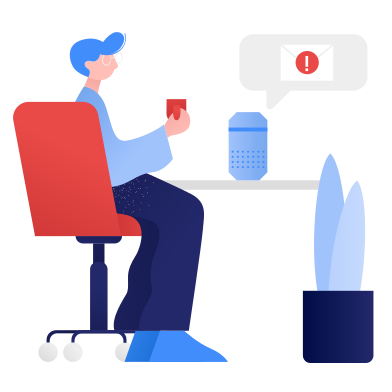 style Smart speaker- new message images in PNG and SVG | Icons8 Illustrations