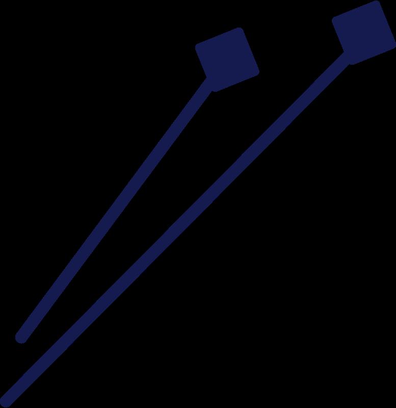Agulhas de tricô Clipart illustration in PNG, SVG
