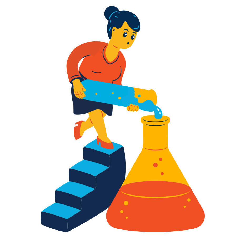 Experiment Clipart illustration in PNG, SVG