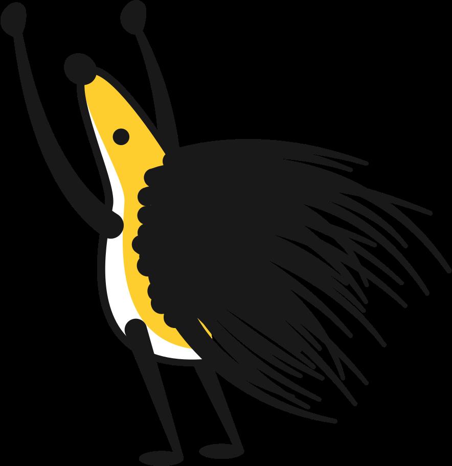 porcupine hedgehog Clipart illustration in PNG, SVG