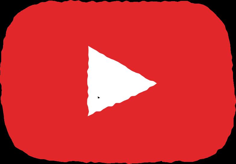 social media youtube Clipart illustration in PNG, SVG