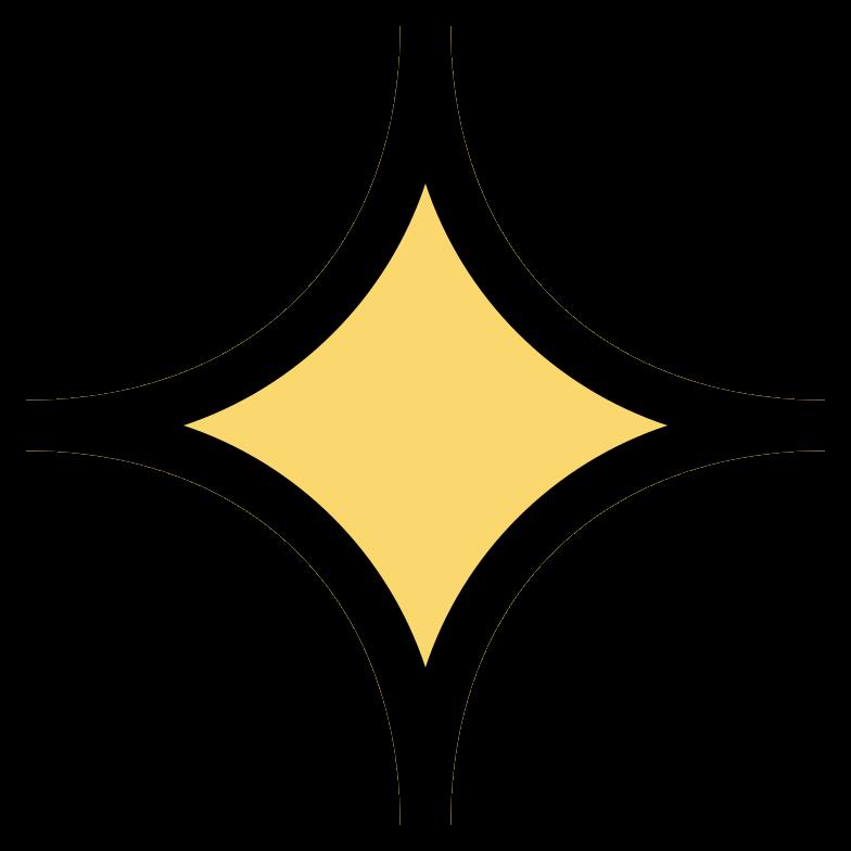 Ilustración de clipart de sparkle en PNG, SVG