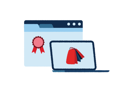 style Online Shopping images in PNG and SVG | Icons8 Illustrations
