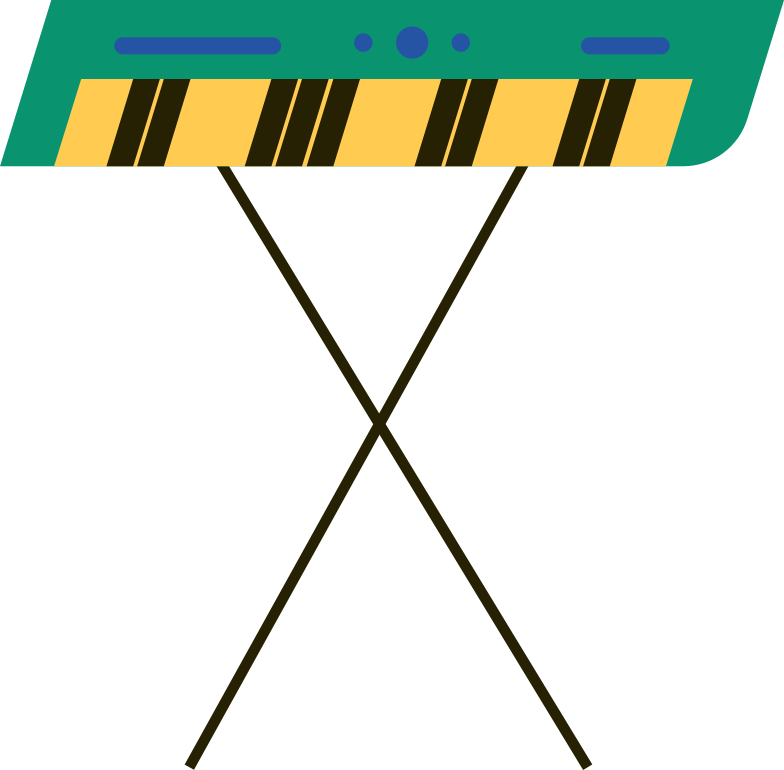 synthesizer Clipart illustration in PNG, SVG