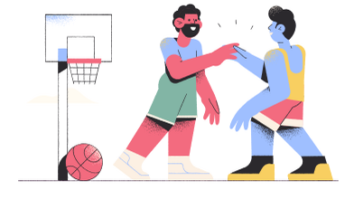style Basketball game images in PNG and SVG | Icons8 Illustrations