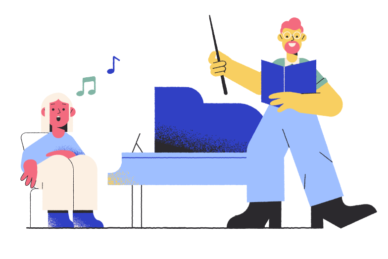 style Music lesson Vector images in PNG and SVG | Icons8 Illustrations