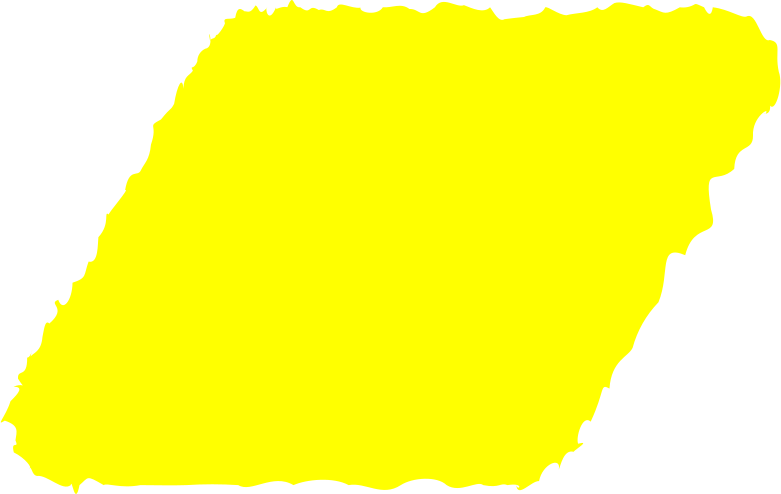 parallelogram yellow Clipart illustration in PNG, SVG