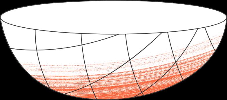 bowl Clipart illustration in PNG, SVG