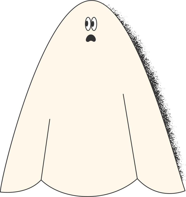 ghost costume Clipart illustration in PNG, SVG