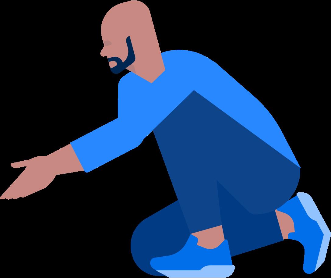 Ilustración de clipart de hombre en PNG, SVG