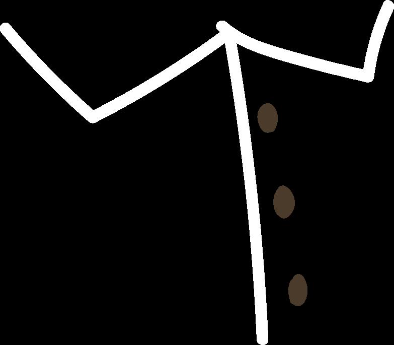 shirt elements- Clipart illustration in PNG, SVG