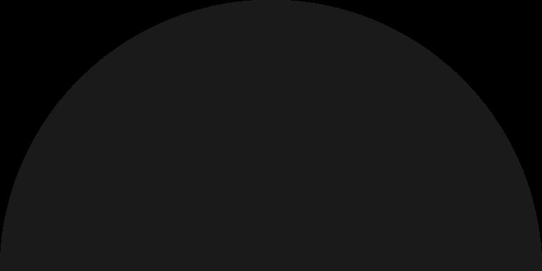 semicircle Clipart-Grafik als PNG, SVG