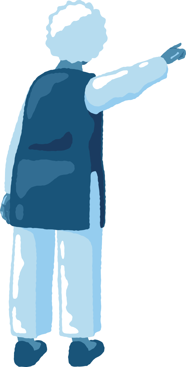 style old woman pointing back Vector images in PNG and SVG | Icons8 Illustrations