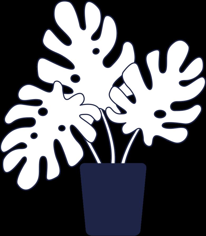 delivery  plant line Clipart illustration in PNG, SVG