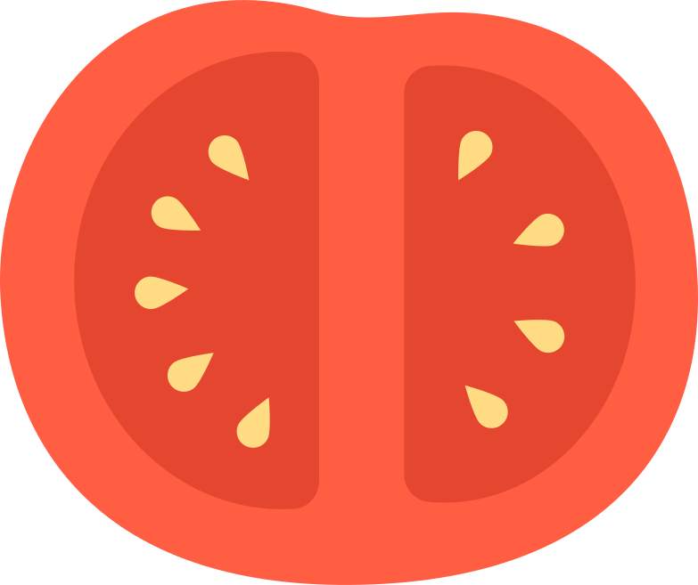 style half a tomato Vector images in PNG and SVG | Icons8 Illustrations