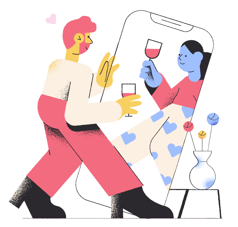 style Online dating Vector images in PNG and SVG | Icons8 Illustrations