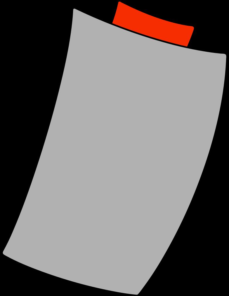 notepad corner Clipart illustration in PNG, SVG