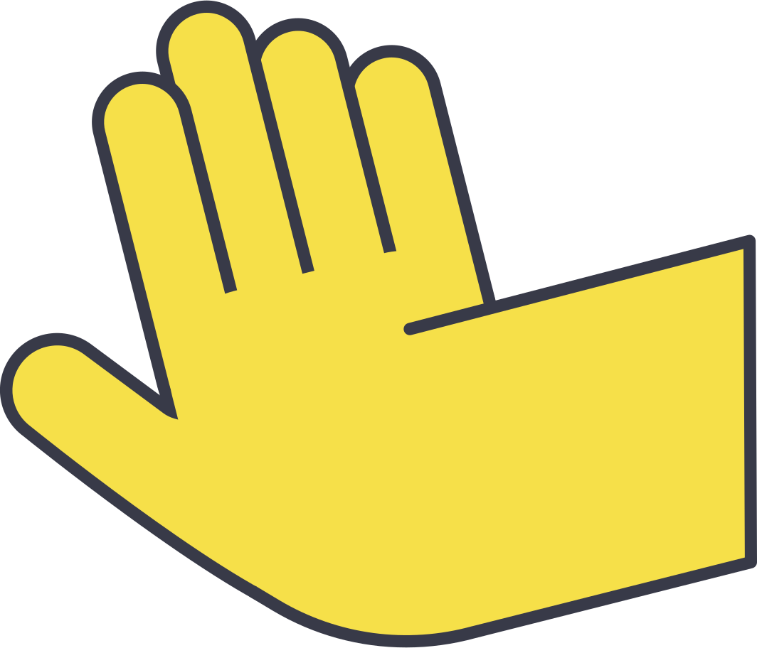 right hand Clipart illustration in PNG, SVG