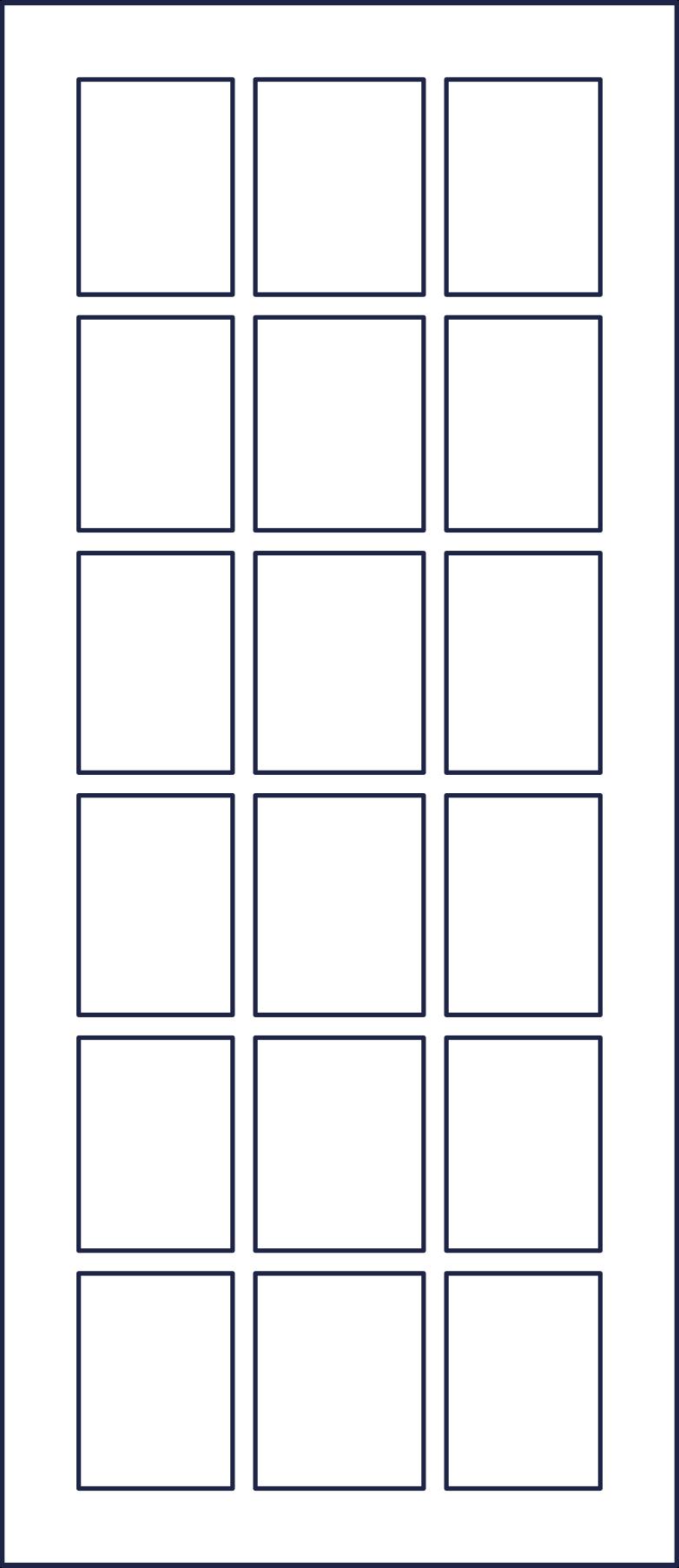 door 1 line Clipart illustration in PNG, SVG