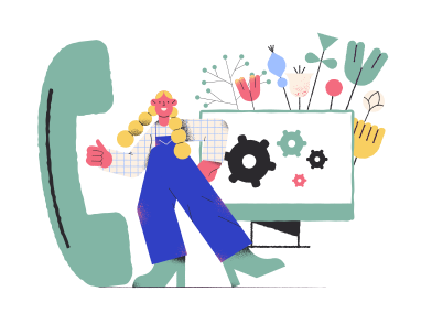 style Technical support  images in PNG and SVG | Icons8 Illustrations