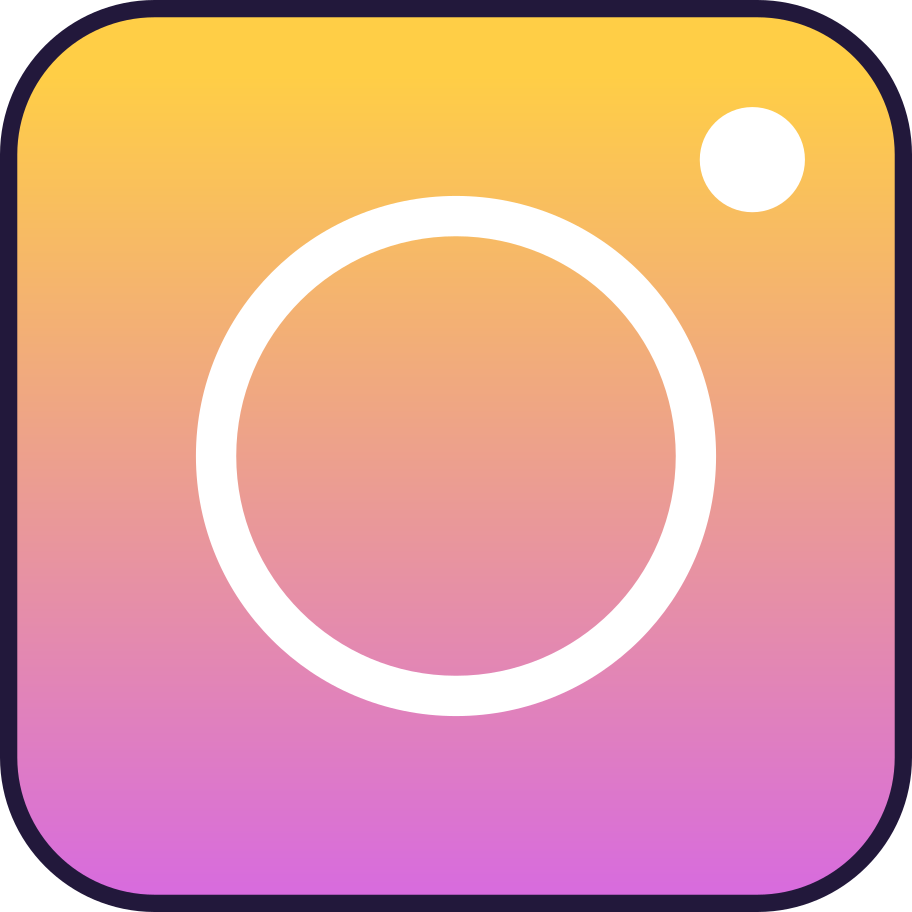 instagram Clipart illustration in PNG, SVG