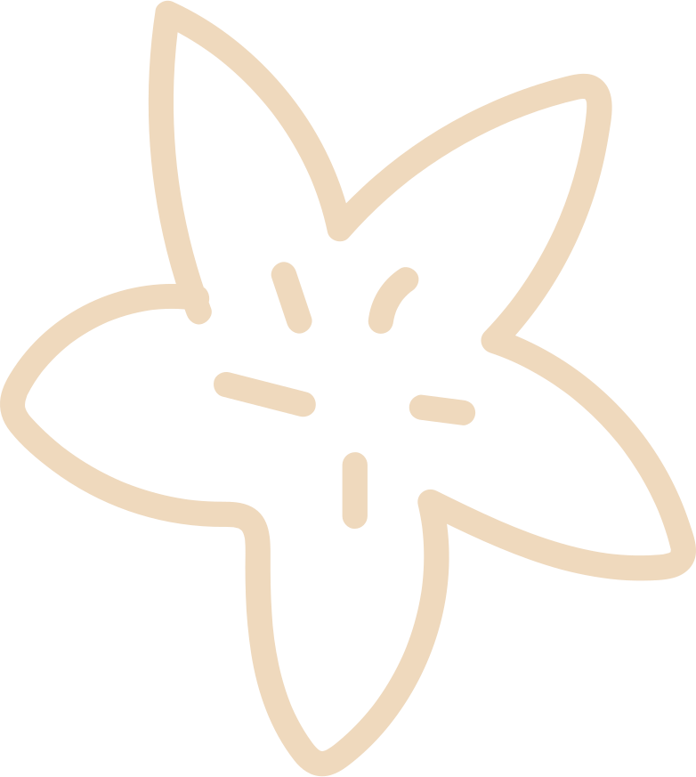tk flower vanilla Clipart illustration in PNG, SVG