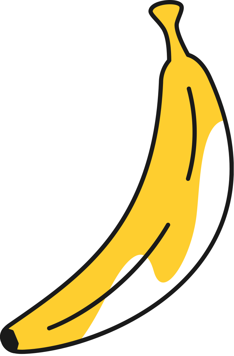 style banana Vector images in PNG and SVG | Icons8 Illustrations