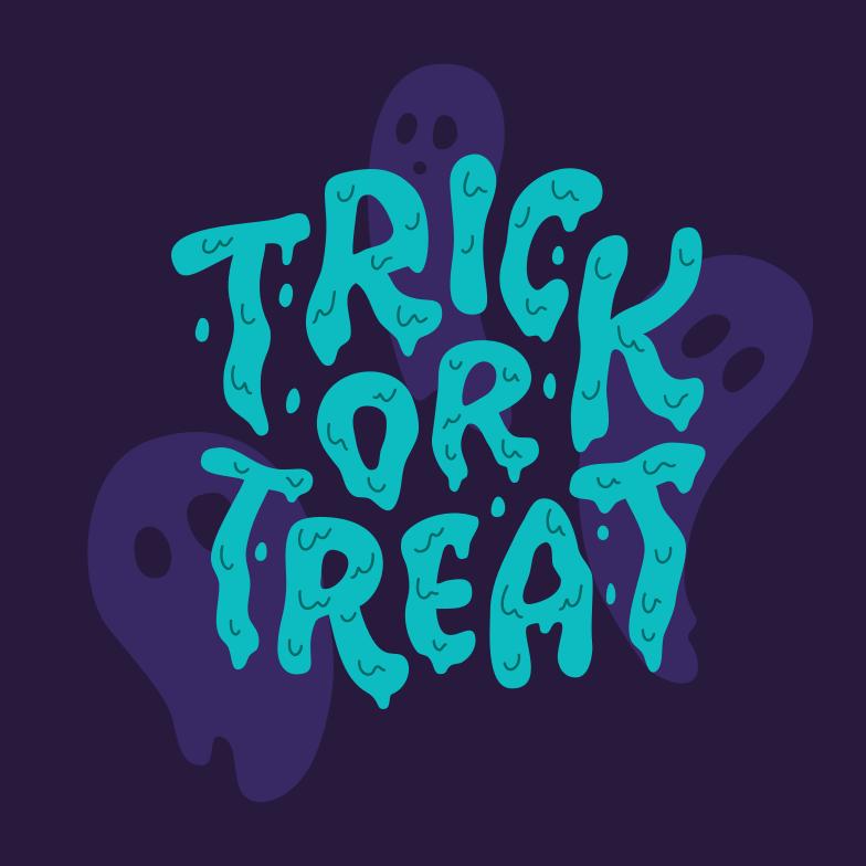trick or treat ghost ghosts Clipart illustration in PNG, SVG