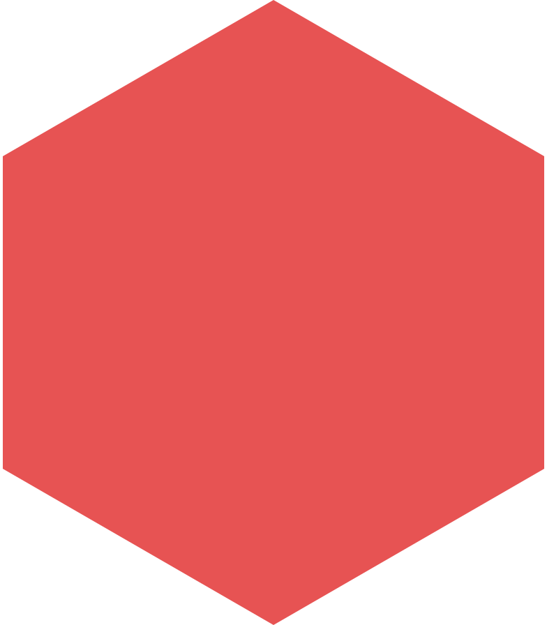 hexagon-red Clipart illustration in PNG, SVG