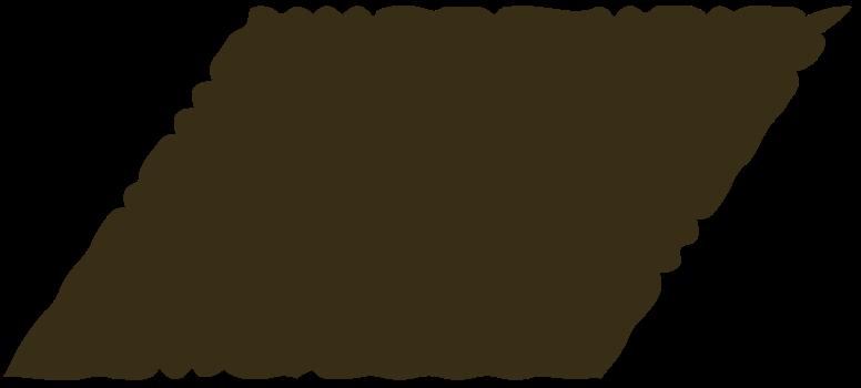 parallelogram brown Clipart illustration in PNG, SVG