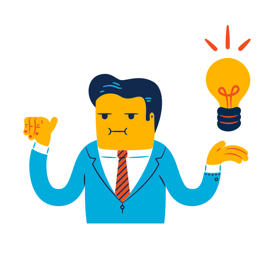 Business idea Clipart illustration in PNG, SVG