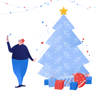 style Christmas selfie images in PNG and SVG | Icons8 Illustrations