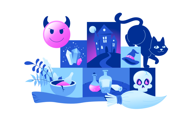 style Modern witch Vector images in PNG and SVG | Icons8 Illustrations