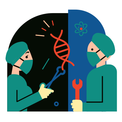 Biotech Clipart Illustrations & Images in PNG and SVG