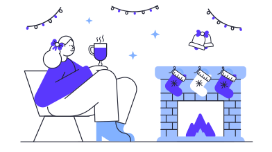 style Cozy evening images in PNG and SVG | Icons8 Illustrations