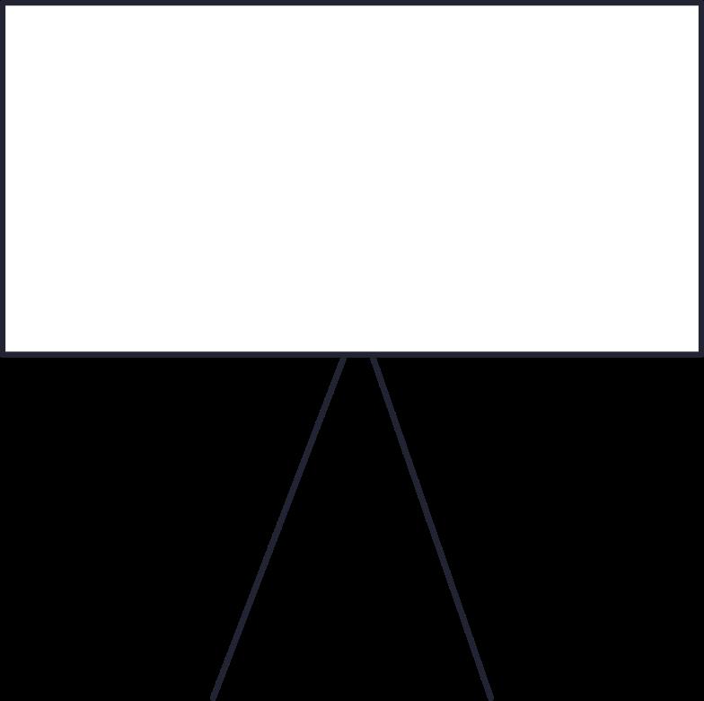 analytics  presentation board Clipart illustration in PNG, SVG