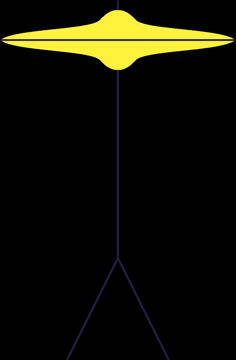 hi hat Clipart illustration in PNG, SVG