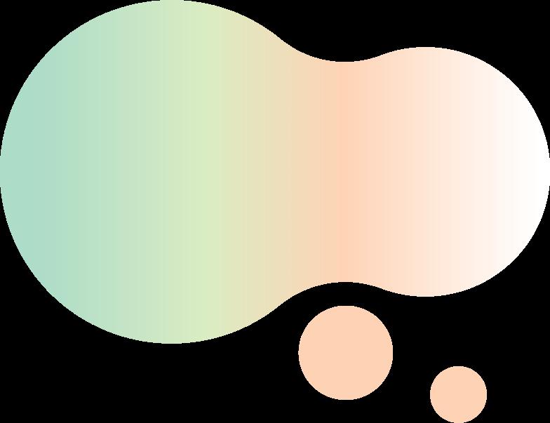 gradient blops Clipart illustration in PNG, SVG