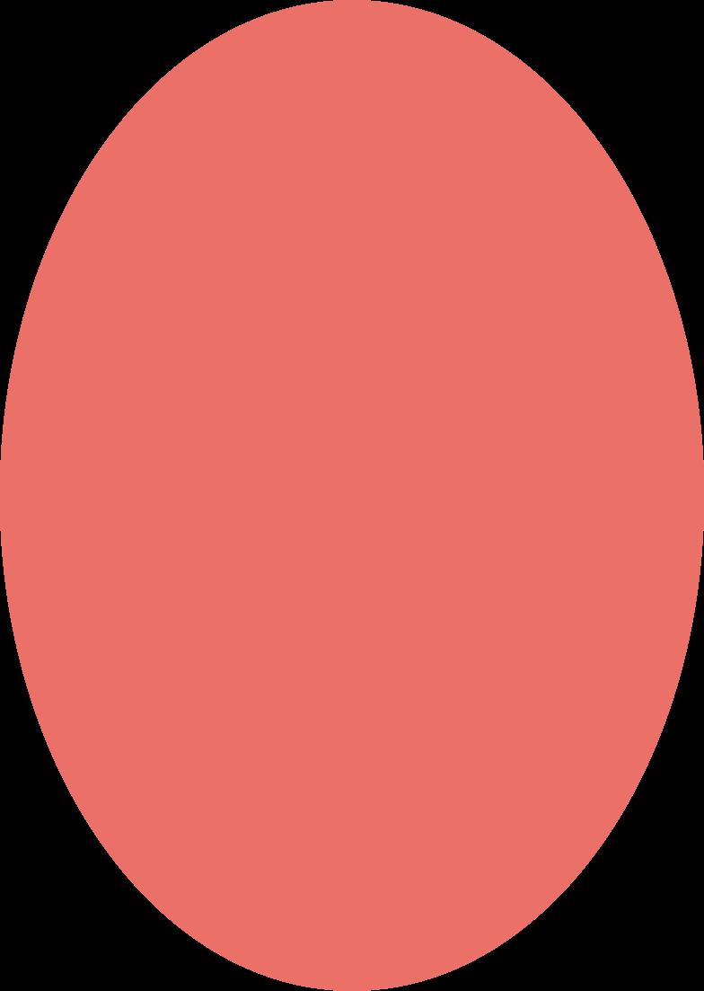 ellipse pink antique Clipart illustration in PNG, SVG