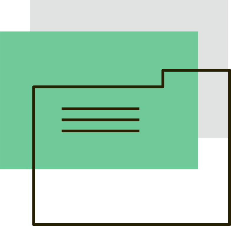 Imágenes vectoriales carpetas verdes en PNG y SVG estilo  | Ilustraciones Icons8