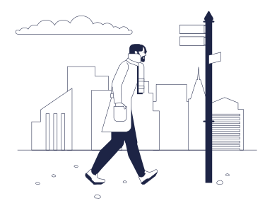 style Walking man images in PNG and SVG | Icons8 Illustrations